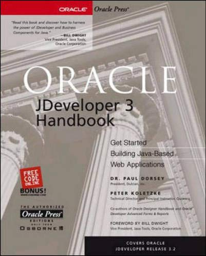 Oracle JDeveloper 3 Handbook (Osborne ORACLE Press Series)