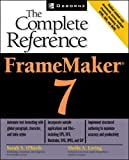 FrameMaker(R) 7: The Complete Reference - book cover picture