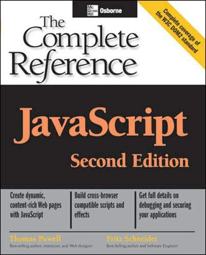 Pdf Javascript The Complete Reference Second Edition Free