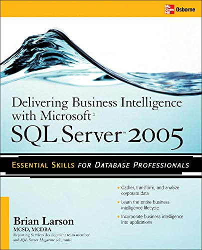 Book Cover: Delivering Business Intelligence with Microsoft SQL Server 2005