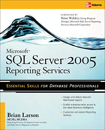 Book Cover: Microsoft SQL Server 2005 Reporting Services 2005