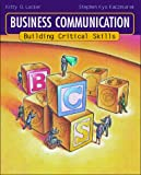 Business Communication: Building Critical Skills - book cover picture