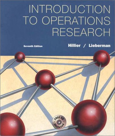 Introduction to Operations Research 7th Edition