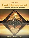 Buy Cost Management: Strategies for Business Decisions with PowerWeb Package from Amazon