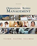 image of Operations & Supply Management with Student DVD Rom