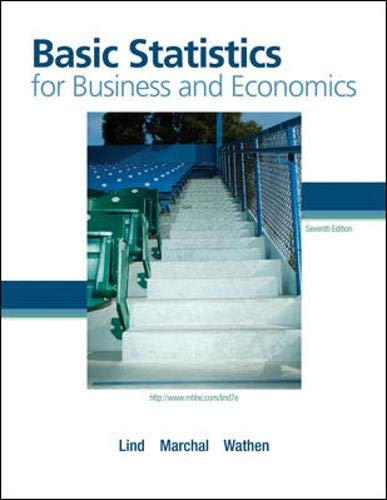 Basic Statistics for Business and Economics with Formula Card (The Mcgraw-Hill/Irwin Series Operations and Decision Sciences), Lind, Douglas; Marchal, William; Wathen, Samuel