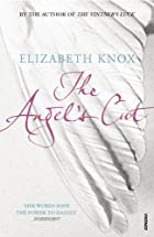 cover art for The Angel's Cut by Elizabeth Knox, featuring the title against a picture of a white, feathered wing that takes up the entire cover