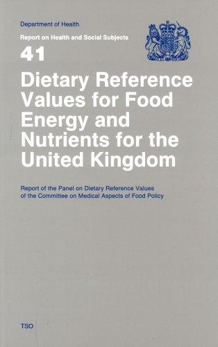 Dietary Reference Values of Food Energy and Nutrients for Th (Report on Health & Social Subjects)