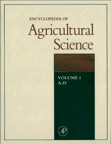 Encyclopedia of Agricultural Science book cover