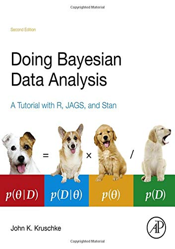 699. Doing Bayesian Data Analysis, Second Edition: A Tutorial with R, JAGS, and Stan