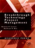 Breakthrough Technology Project Management - book cover picture