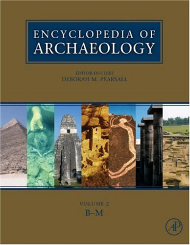 Encyclopedia of Archaeology 1st Edition ( Hardcover ) Pearsall, Deborah M. pulished