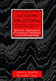 Techniques of Modern Structural Geology, Volume 3: Applications of Continuum Mechanics in Structural Geology