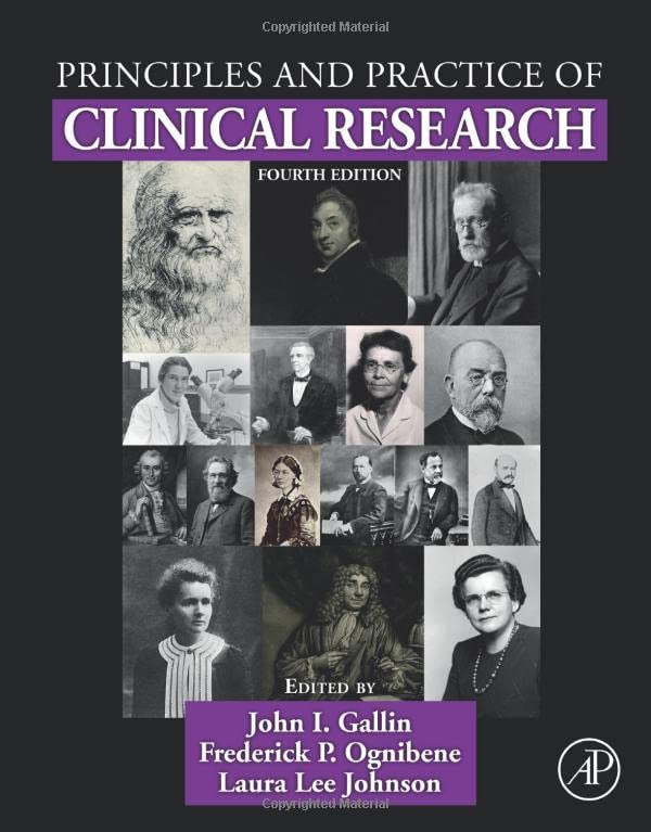 PRINCIPLES & PRACTICE OF CLINICAL RESEARCH, 4ED