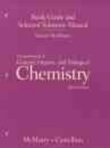 Fundamentals of General Organic and Biological Chemistry (Study Guide)