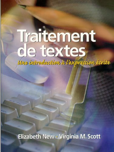 Traitement De Textes Une Introduction a L