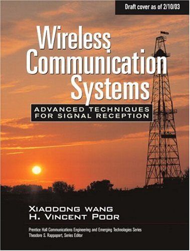 Book Cover: Wireless Communication Systems: Advanced Techniques for Signal Reception