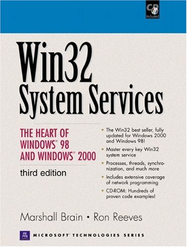 PDF Win32 System Services The Heart of Windows 98 and Windows 2000 3rd Edition