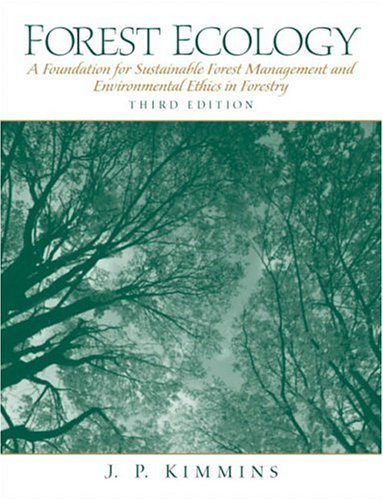 Forest Ecology (3rd Edition), Kimmins, James P.