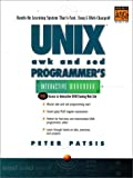 UNIX AWK and SED Programmer's Interactive Workbook (UNIX Interactive Workbook) - book cover picture