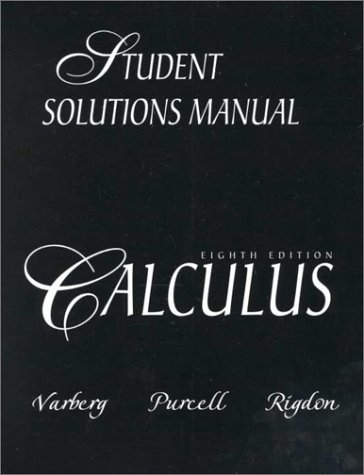 Pdf Calculus 8th Edition Student Solutions Manual Free Ebooks