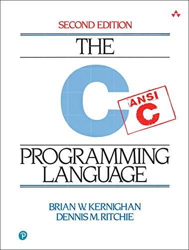 C Programming Language Book Cover Picture