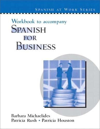 Workbook for Spanish for Business