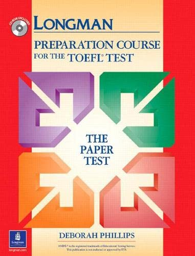 Longman Preparation Course For The TOEFL Test and CD-ROM