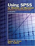 Using SPSS for Windows and Macintosh: Analyzing and Understanding Data (4th Edition) (Paperback), cheap books, booklist, quick books, best selling, music books, world books