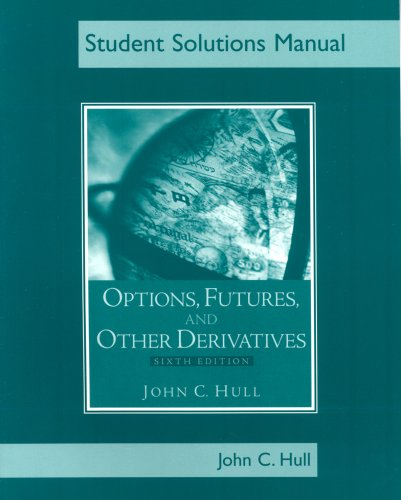Students Solutions Manual for Options, Futures, and Other Derivatives, Sixth Edition