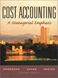 Buy Cost Accounting and Student CD Package, 11th Edition from Amazon