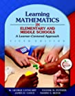 Learning Mathematics in Elementary and Middle Schools: A Learner-Centered Approach (5th Edit...