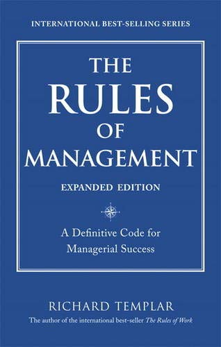 Templar, Richard The rules of management (Expanded edition)