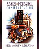Business and Professional Communication for the 21st Century - book cover picture