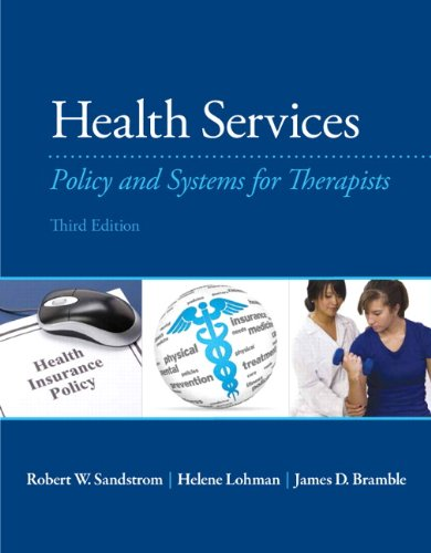 PDF Health Services Policy and Systems for Therapists 3rd Edition