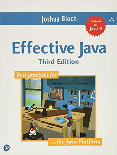 Effective Java Book Cover Picture