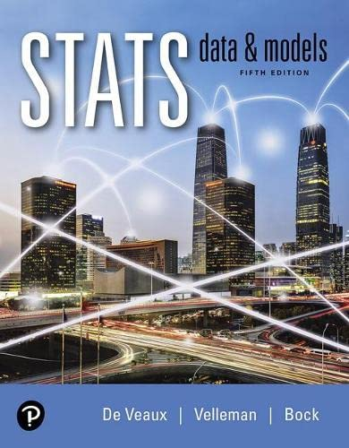 Stats: Data and Models, 5th Edition Pearson 第1张