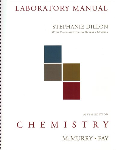 Lab Manual for Chemistry (5th Edition)