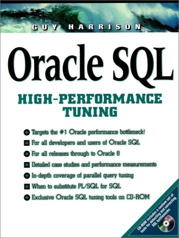 Oracle SQL High-Performance Tuning with CDROM