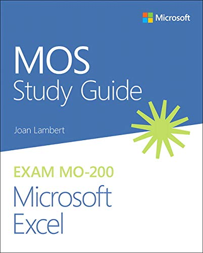 MOS Study Guide for Microsoft Excel Exam MO-200 Microsoft 第1张
