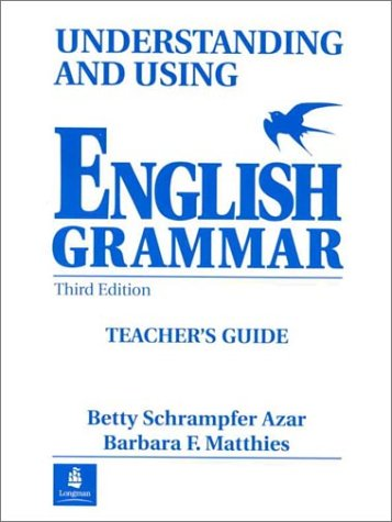PDF Understanding and Using English Grammar Teacher s Guide