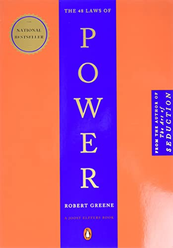 9. The 48 Laws of Power – Robert Greene; Robert Greene