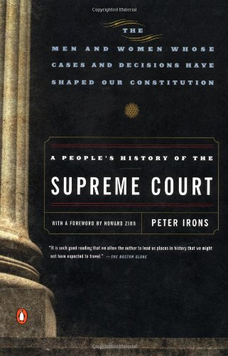 A People's History of the Supreme Court, Irons, Peter