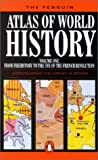 The Penguin Atlas of World History (Penguin Reference Books) - book cover picture