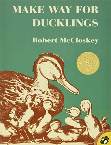 Make Way for Ducklings bby Robert McCloskey