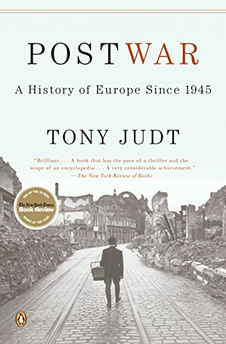 Postwar: A History of Europe Since 1945 Book Cover Picture