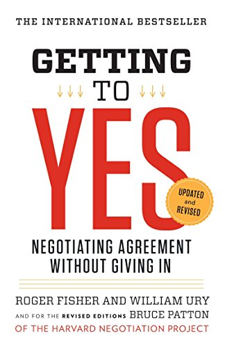 Getting to Yes Book Cover Picture