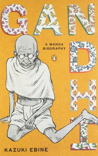 Gandhi: A Manga Biography cover