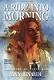 A Ride into Morning: The Story of Tempe Wick - book cover picture