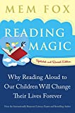 Reading Magic: Why Reading Aloud to Our Children Will Change Their Lives Forever - book cover picture